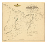 1790, Herkimer County, Land Patents of Southside of the Mohawk River Reproduced in, New York Giclee Print