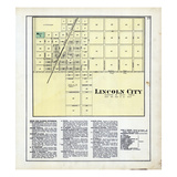 1879, Lincoln City, Indiana, United States Giclee Print