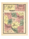 1869, Halifax, Halifax Town West, Halifax Center, Vermont, United States Giclee Print