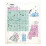 1872, Minier, Bluetown, Wesley City, Spring Lake, Rullamore, Illinois, United States Giclee Print