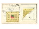 1918, Hartford, Lang, Kansas, United States Giclee Print