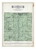 1929, Lanesburgh Township, Heidelberg, New Prague, Lake Sanborn, Lake Pepin, Eggert Lake, Mud Lake Giclee Print