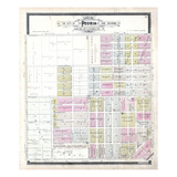 1896, Peoria and South Peoria, Illinois, United States Giclee Print