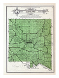 1912, Cleveland Township, Scotch Lake, Salvidge, Henry, Decker, Silver, Minnesota, United States Giclee Print