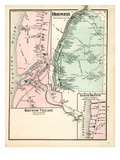 1875, Brewer, Maine, United States Giclee Print