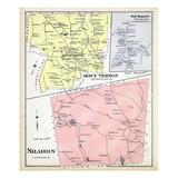 1892, Mount Vernon, Mount Vernon Town, Sharon, New Hampshire, United States Giclee Print