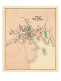1881, Blue Hill Village, Maine, United States Giclee Print