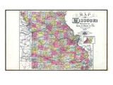 1898, State, Missouri, United States Giclee Print