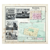 1874, Burnside, Fountain Green, Illinois, United States Giclee Print