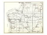1930, Benzie County, Crystal Lake, Platte, Almira, Homestead, Inland, Gilmore, Blaine, Joyfield, We Giclee Print