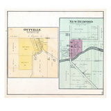1892, Ottville, New Bedford, Illinois, United States Giclee Print