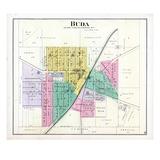 1892, Buda, Illinois, United States Giclee Print
