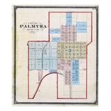1875, Palmyra City, Missouri, United States Giclee Print