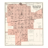 1929, Homer, Illinois, United States Giclee Print