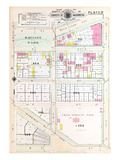 1903, Plate 017, District of Columbia, United States, Rawlins Park Giclee Print