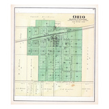 1892, Ohio, Illinois, United States Giclee Print