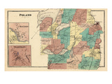 1873, Poland, Maine, United States Giclee Print