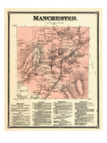 1869, Manchester, Vermont, United States Giclee Print