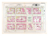 1903, Plate 015, District of Columbia, United States, Farragut Square Giclee Print
