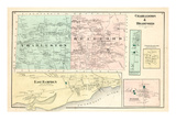 1875, Charleston, Bradford, Hampden, Maine, United States Giclee Print