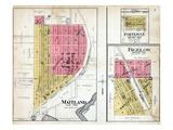 1918, Fortescue, Bigelow, Maitland, Missouri, United States Giclee Print