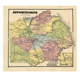 1868, Appoquinimink, Townsend, Delaware, United States Giclee Print