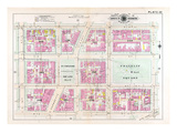 1903, Plate 022, District of Columbia, United States, Franklin Square Giclee Print