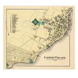 1881, Castine Village, Maine, United States Giclee Print