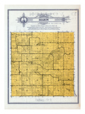 1912, Sharon Township, Dresseville, St. Henry, Lloyd, Minnesota, United States Giclee Print