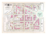 1903, Plate 006, District of Columbia, United States, Dupont Circle Reproduction procédé giclée
