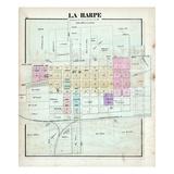 1874, La Harpe, Illinois, United States Giclee Print