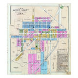 1894, West Unity, Ohio, United States Giclee Print
