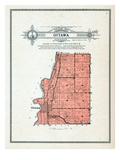 1912, Ottawa Township, Minnesota, United States Giclee Print
