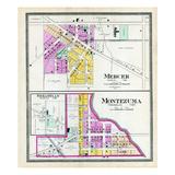 1900, Mercer, Montezuma, Sebastian, Ohio, United States Giclee Print