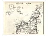 1930, Leelanau County, Empire, Kasson, Solon, Elmwood, Glen Arbor, Cleveland, Centerville, Bingham Giclee Print