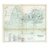 1873, Red Bank, New Jersey, United States Giclee Print