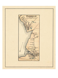1881, Penobscot, Maine, United States Giclee Print