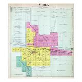 1892, Viola, Illinois, United States Giclee Print