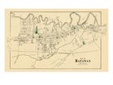 1873, Matawan, New Jersey, United States Giclee Print