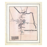 1880, Andover Village, Maine, United States Giclee Print