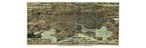 1869, Baltimore Bird's Eye View, Maryland, United States Giclee Print