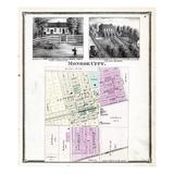 1876, Monroe City, Missouri, United States Giclee Print
