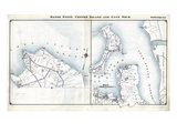 1914, Sands Point, Center Island and Cove Neck, New York, United States Giclee Print