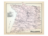 1873, Millstone Township, New Jersey, United States Giclee Print