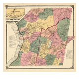 1867, Putnam Valley and Philipstown, Oregon, New York, United States Giclee Print
