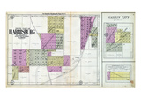 1908, Harrisburg - South, Gaskin City, Pankeyville, Illinois, United States Giclee Print