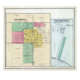 1892, Swedona, Preemption, Illinois, United States Giclee Print