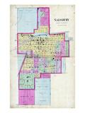 1897, Salisbury, Missouri, United States Giclee Print