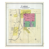 1892, Cable, Illinois, United States Giclee Print