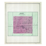 1892, Joy, Illinois, United States Giclee Print